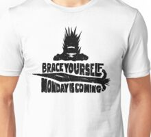 Monday is Coming  (Game of Thrones) (Black) Unisex T-Shirt