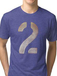 2 Tee - Gold Tri-blend T-Shirt