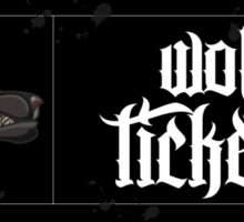 Wolf Tickets Sticker