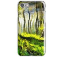 Van Gogh Forest iPhone Case/Skin