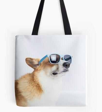 Dapper Corgi Tote Bag