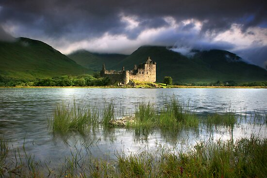 Scotland: Kilchurn Castle Revisited by Angie Latham
