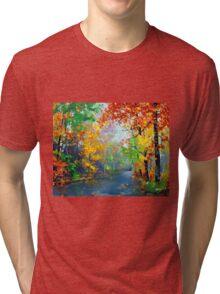 Autumn Trees 2 Tri-blend T-Shirt