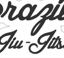 Vintage Brazilian Jiu_Jitsu Since 1925 Sticker