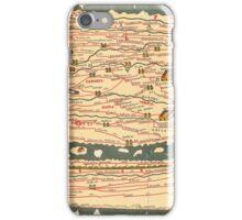 Tabula Peutingeriana Segmentum II iPhone Case/Skin