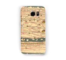 Tabula Peutingeriana Segmentum II Samsung Galaxy Case/Skin