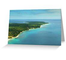 Vanuatu by air Greeting Card