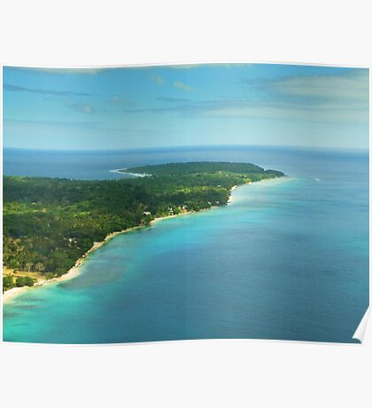 Vanuatu by air Poster