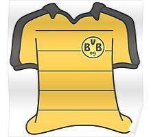 Borussia Dortmund 2015/16 Home Kit Poster