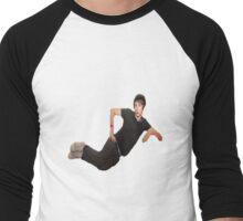 danisnotonfire french girl  Men's Baseball ¾ T-Shirt