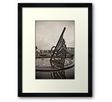 2000 Years of History - Sundial Tower Hill Framed Print