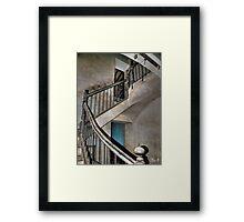 Old stair Framed Print