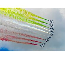 The Italian Arrows Photographic Print