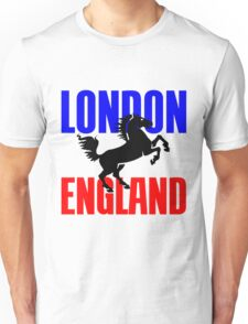 LONDON, ENGLAND Unisex T-Shirt