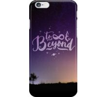 To Infinity and Beyond // Quote Toy Story Inspirational iPhone Case/Skin