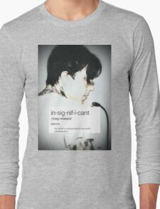 Insignificant Frank Iero/FIATC Edit Long Sleeve T-Shirt