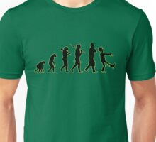 Evolution line up: abe to zombie Unisex T-Shirt