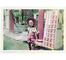 1950's Child Cowboy Photographic Print