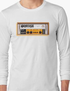 Orange color amp amplifier Long Sleeve T-Shirt