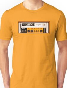 Orange color amp amplifier Unisex T-Shirt