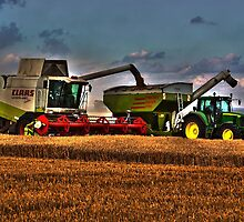 Combine with tractor by beeman1