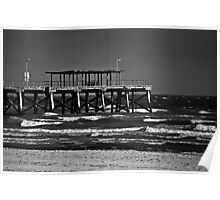 largs bay jetty Poster