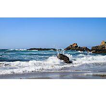 Coastal 3 Glass Beach Photographic Print