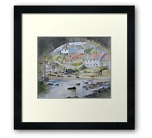Sandsend under the Arches, Whitby Framed Print
