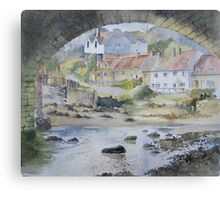Sandsend under the Arches, Whitby Canvas Print