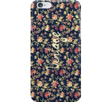 Vintage Elegant Pink and Red Roses Floral Pattern iPhone Case/Skin