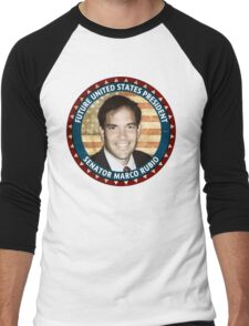 Future President Marco Rubio Men's Baseball ¾ T-Shirt