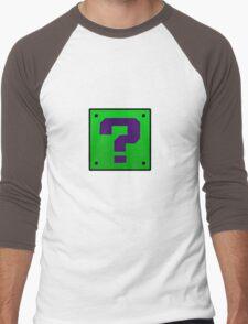 Riddler Bros Men's Baseball ¾ T-Shirt
