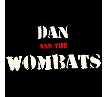 Dan and the Wombats Photographic Print