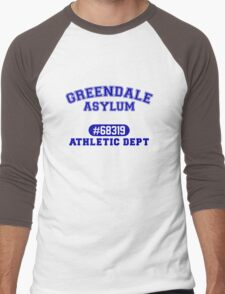 Greendale Asylum Men's Baseball ¾ T-Shirt