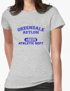 Greendale Asylum Womens Fitted T-Shirt