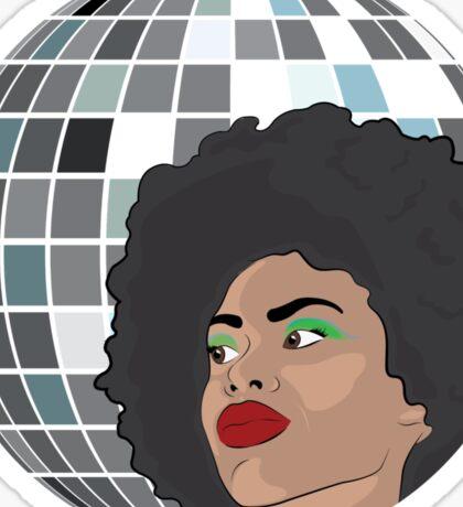 Disco Lady Sticker
