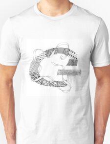 Zentangle®-Inspired Art - Tangled Alphabet - G T-Shirt