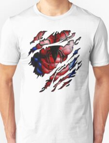 Peter torn tee tshirt pencils color art Unisex T-Shirt