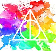 Rainbow Hallows  by kasia793