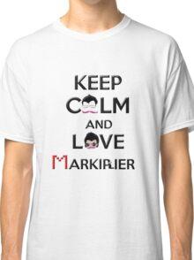 Keep calm and love Markiplier Classic T-Shirt