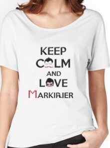 Keep calm and love Markiplier Women's Relaxed Fit T-Shirt