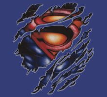 clark torn tee tshirt pencils color art T-Shirt