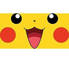 Pikachu Face Photographic Print
