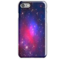 Pixelated Red & Blue Galaxy  iPhone Case/Skin