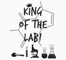 King of the Lab! 3  Kids Tee