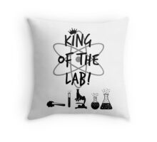 King of the Lab! 2 Throw Pillow
