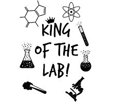 King of the Lab! Photographic Print