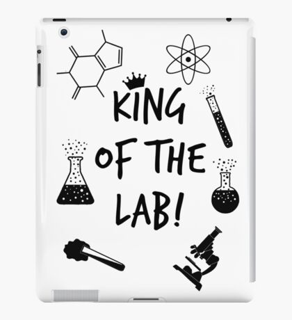 King of the Lab! iPad Case/Skin