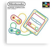 Super Famicom Metal Print