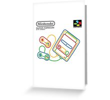 Super Famicom Greeting Card